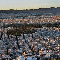 Вид на Афины с холма Ликавитос :: Владимир Брагилевский