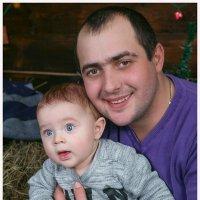 Папа с сыном) :: Екатерина К..