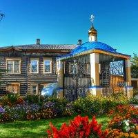 Крещенский павильон, для розлива крещенской воды :: Милешкин Владимир Алексеевич