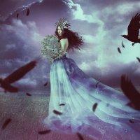 Три вороны и одна Вероника :: Юка Добрынина