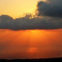 Закат на Кипре :: Юрий Петров