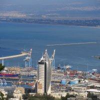 Хайфа. Вид на залив. :: Герович Лилия
