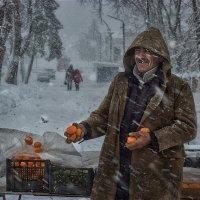 Торговец южными фруктами :: Владимир Дядьков