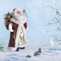 Дед Мороз уже в пути! :: Алла Шевченко