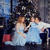 Семейная новогодняя фотосессия :: марина алексеева