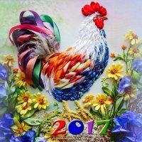 Календарь 2017 Год Петуха :: NeRomantic Выползова