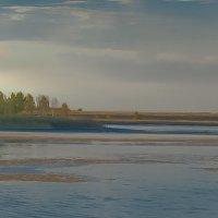 Вечер на Пионерском озере :: Лариса Димитрова