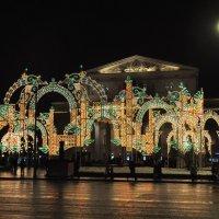 Новогодняя Москва :: Августа
