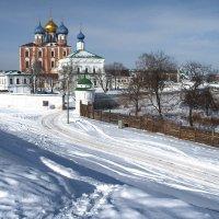Рязань.Кремль.Вид с крепостного вала. :: Лесо-Вед (Баранов)