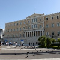 Здание парламента, Афины. площадь Синтагма :: Владимир Брагилевский