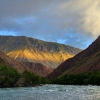 Вечер на реке Кёкёмерен :: GalLinna Ерошенко