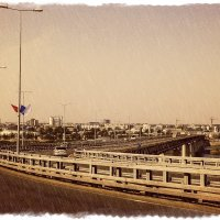 Авто/метро мост :: Андрей Головкин