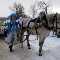 Снегурочка собралась в путешествие :: Наталья Петровна Власова
