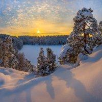 Тени на снегу. :: Фёдор. Лашков