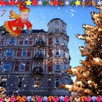 Счастья и радости в Новом году! :: Nina Yudicheva