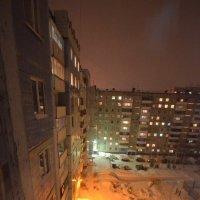 за час до Нового года - двор :: Евгений Фролов