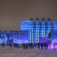 Световое шоу в Самаре :: Елена Логачева