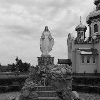 Каплица  Пресвятой  Богородицы  в  Одаях :: Андрей  Васильевич Коляскин