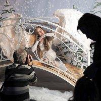 ангел на мостике :: Олег Лукьянов