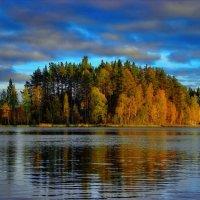 Островок на озере Саркоярви. :: Владимир Ильич Батарин