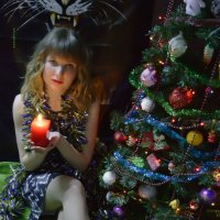от Мари всем пламенный новогодний привет :: Роза Бара