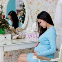 В ожидании доченьки :) :: Елизавета Ск