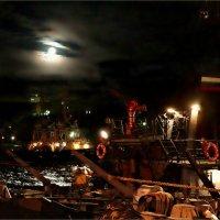Лунная ночь с кораблями... :: Кай-8 (Ярослав) Забелин