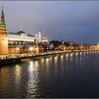Вид на Кремль и Кремлёвскую набережную :: Irina-77 Владимировна