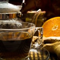 Чай с имбирем :: Rina .