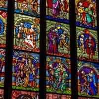 Витражи в кафедральном соборе Базеля :: Witalij Loewin