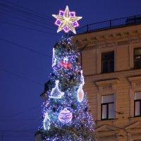 Новогодний город :: Вера Моисеева