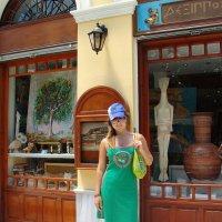Моя сестренка в Афинах. :: Оля Богданович
