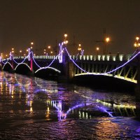 мост в праздник :: Валентина