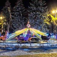 в ночном парке :: юрий иванов