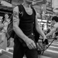 броуновское движение на улицах Гонконга :: Sofia Rakitskaia