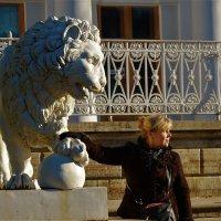 Лев и Львица...... :: Sergey Gordoff