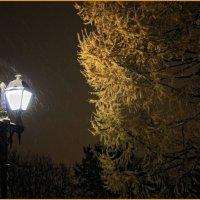 ночь...улица...фонарь... :: Воронов .......