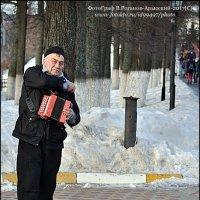 Я ИГРАЮ НА ГАРМОШКЕ У ПРОХОЖИХ НА ВИДУ...(2) :: Валерий Викторович РОГАНОВ-АРЫССКИЙ