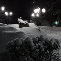 Моя ул Гончарова зимой :: Юрий Владимирович 34