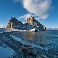 Облака над скалами :: Анатолий Иргл