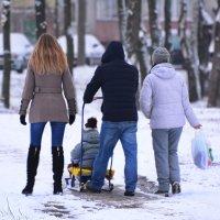 Дружною семьёй. :: Paparazzi
