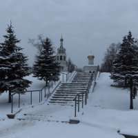 Дорога к храму :: Андрей Лукьянов