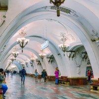 Москва. Станция метро Арбатская. :: В и т а л и й .... Л а б з о'в
