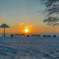 Залив на закате :: Valerii Ivanov