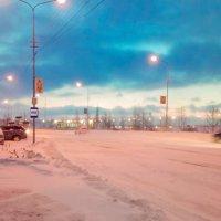 Мобильное. Зима в городе. :: ГРИГОРИЙ Р (Тапер Барабанщик)