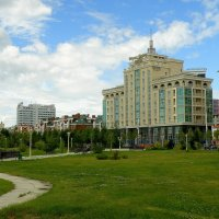 В парке Тысячелетия... :: Андрей Головкин