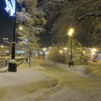 зимним вечером :: Valery