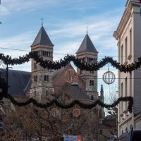 Рождество в Маастрихте. Собор Св. Серватия :: Witalij Loewin