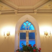 Синий вечер смотрит в дворцовое окно... :: Регина Пупач