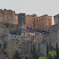 Акрополь, вид с Ареопага :: Владимир Брагилевский